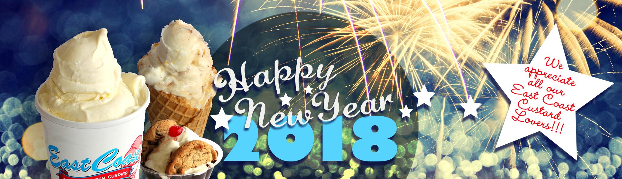 New Year's Slider