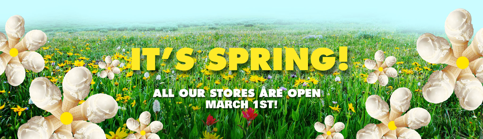 Stores Open March 1st