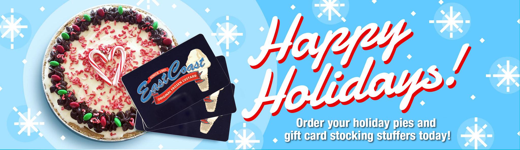 East Coast Custard Gift Cards